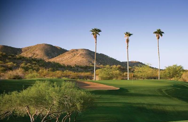 Golf course at Rancho De Los Caballeros.
