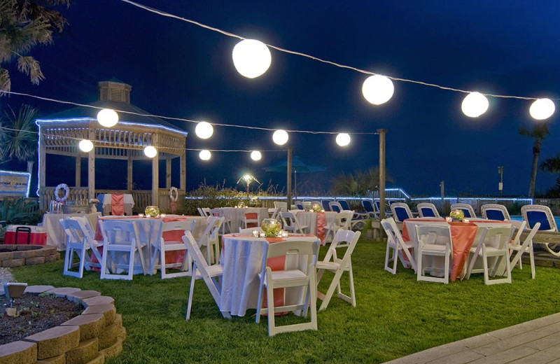 Wedding Reception At Ocean Isle Inn
