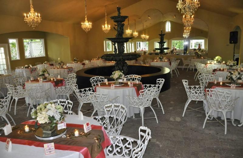 Wedding reception at Heather's Glen.