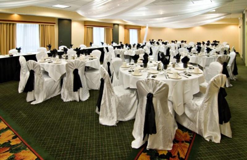 Wedding reception at Holiday Inn Minneapolis.