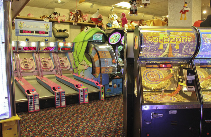 Video arcade at Bavarian Inn of Frankenmuth.
