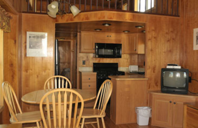 Cabin Interior at Teton Range Resort