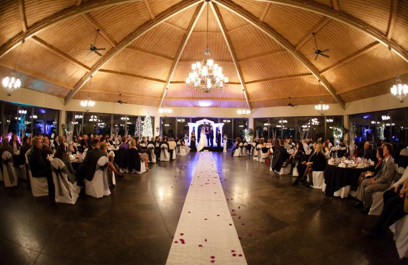 Wedding reception at Heritage Hills Golf Resort.
