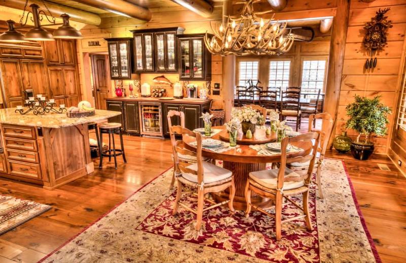 Kitchen at The Lodge at River Run.