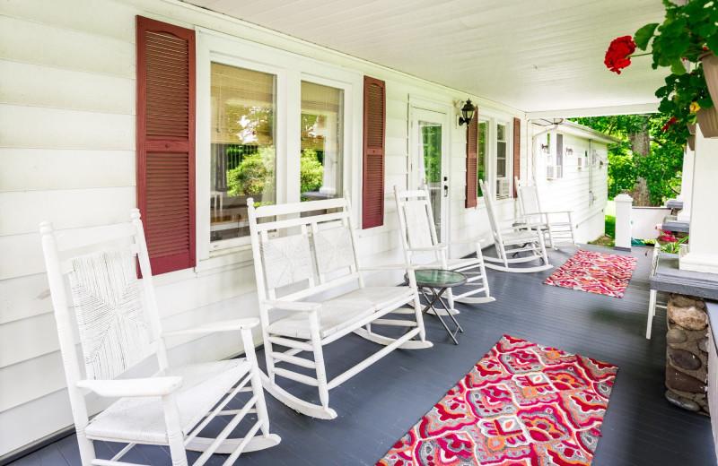 Porch at Deerfield Spa.