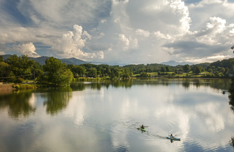 Whether paddling on the lake, visiting the gardens or exploring the walking trail, visitors to Lake Junaluska find abundant opportunities for personal and spiritual renewal.