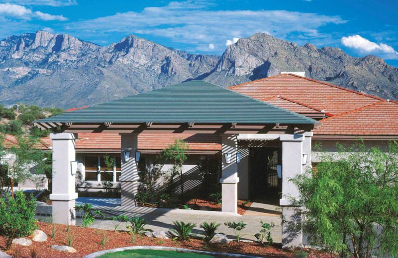 Exterior view of The Golf Villas at Oro Valley.