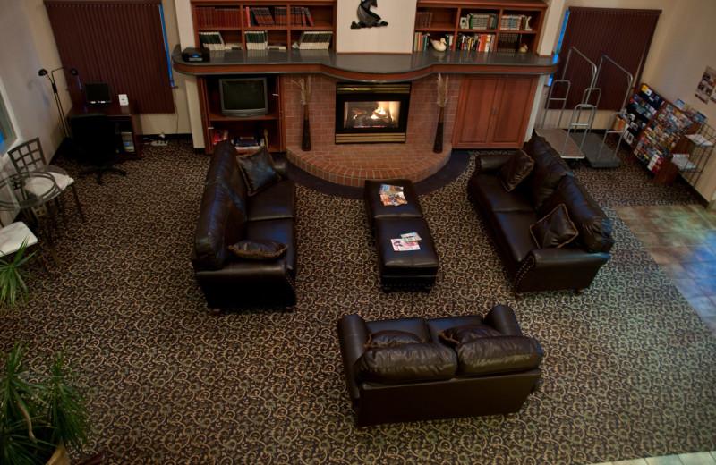 Lobby area at The Garibaldi House Inn & Suites.