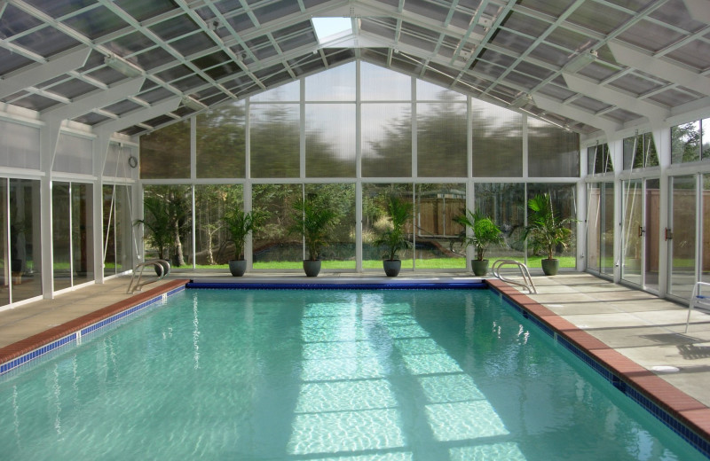 Indoor pool at Lighthouse Oceanfront Resort.