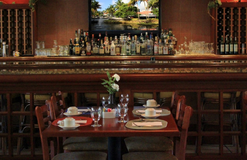 Dining at Wyndham Garden at Palmas del Mar.