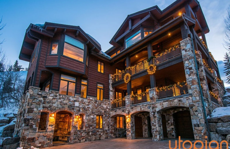 Rental exterior at Utopian Luxury Vacation Homes.