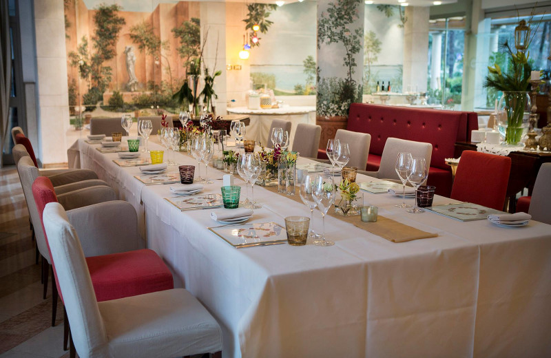 Dining at Regina Adelaide.