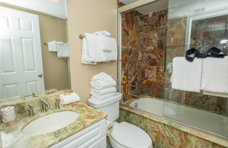 Bathroom at Holiday Isle Properties - South Bay by the Gulf 124.