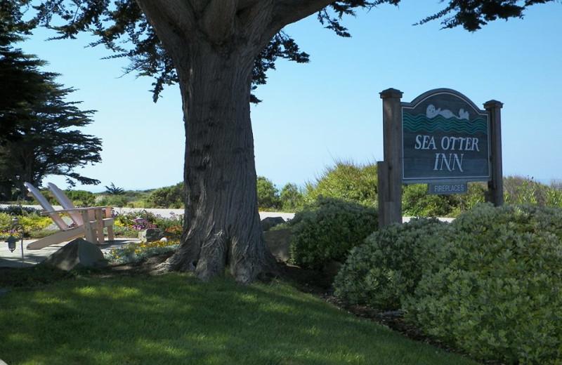 Exterior view of Sea Otter Inn.