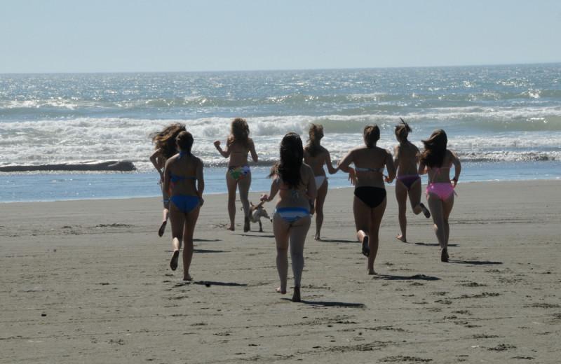 Beach at Retreats & Reunions R&R House.