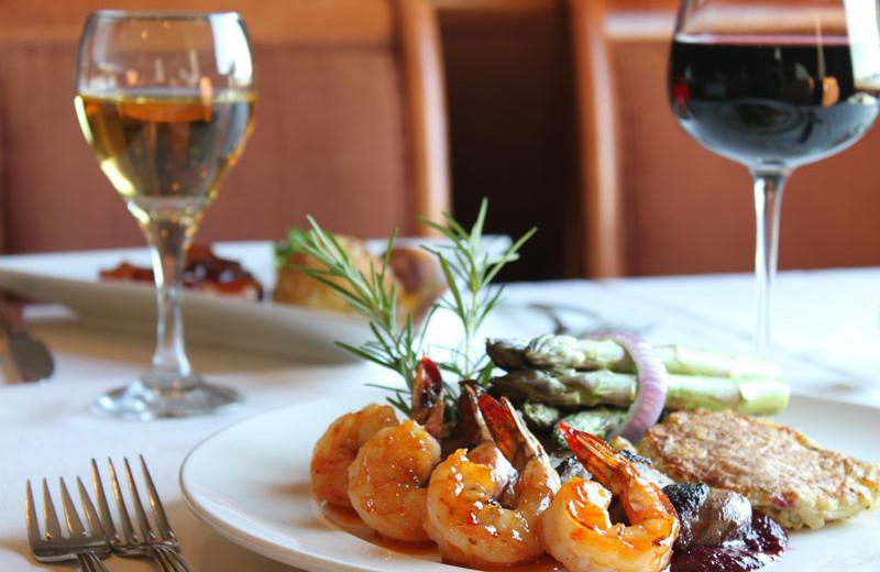 Dinner at Hilton Suites Ocean City Oceanfront.