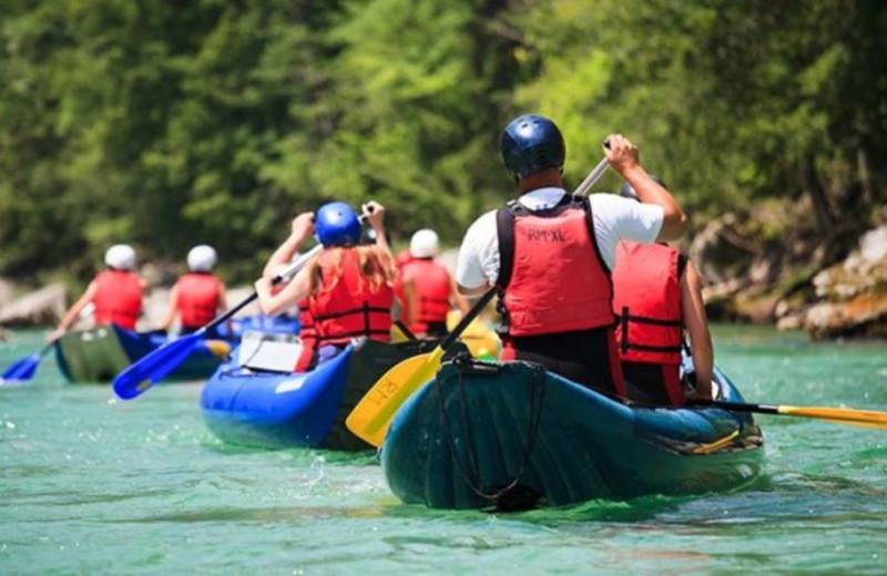 Kayaking at Balch Hotel.