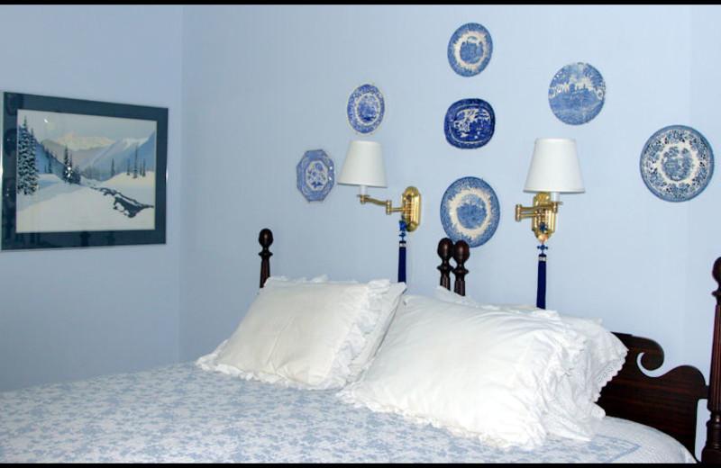 Guest room at Red Door Bed & Breakfast.