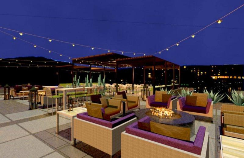 Blue Star Louge at Marriott Desert Springs Resort