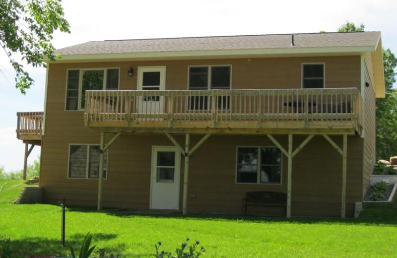 Cabin exterior at Betsy Ross Resort.