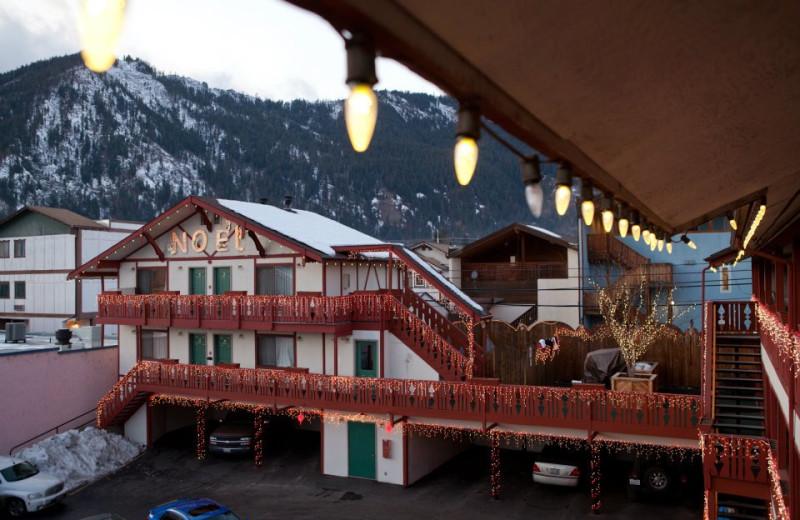 Mountain view at Obertal Inn.