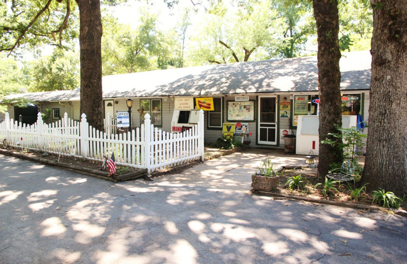 Shops at Bayou Resort.