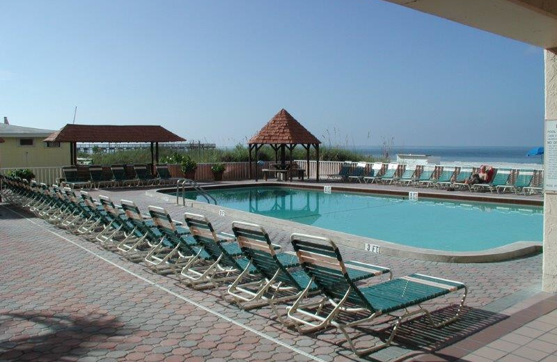 Outdoor pool at Holiday Villas III.