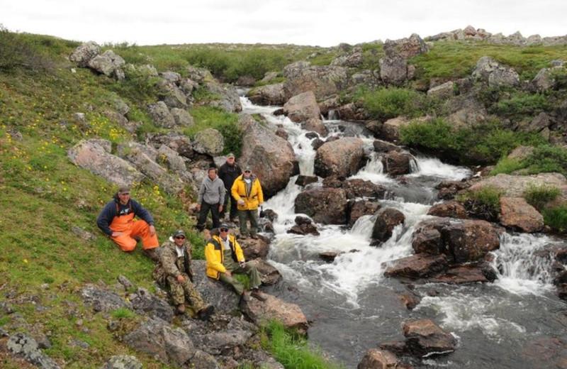 River at Tukto Lodge