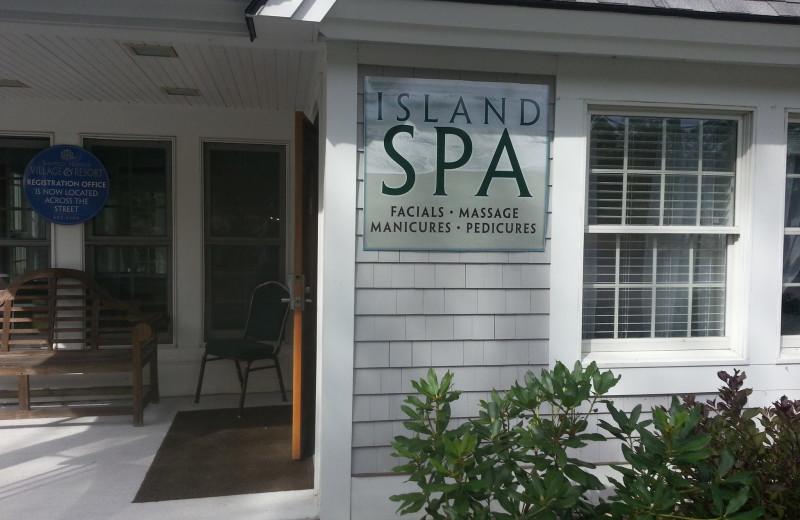 The spa at Sheepscot Harbour Village & Resort.