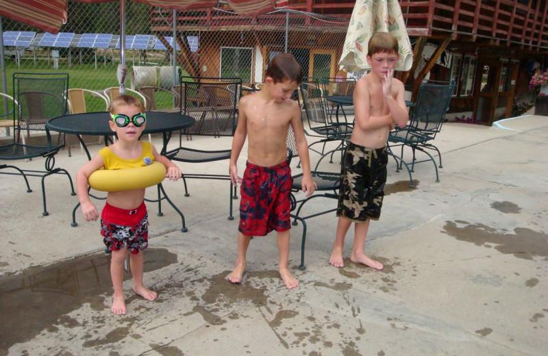Swimming Fun at Silver Creek Plunge