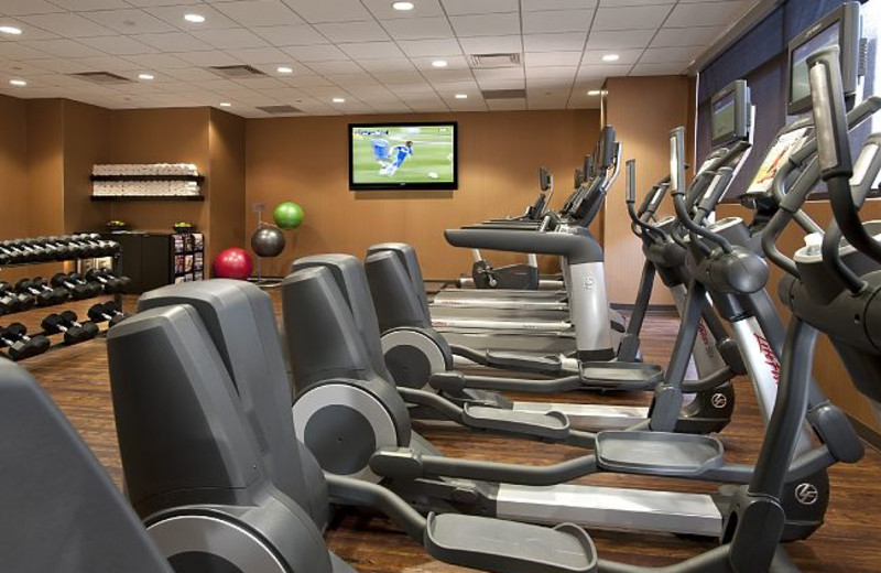 Fitness Room at JW Marriott Denver