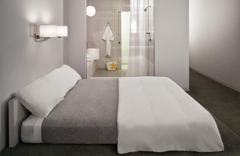 Guest room at The Standard, Downtown LA.