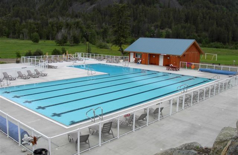 Outdoor swimming pool at RockRidge Canyon Camp & Conference Center
