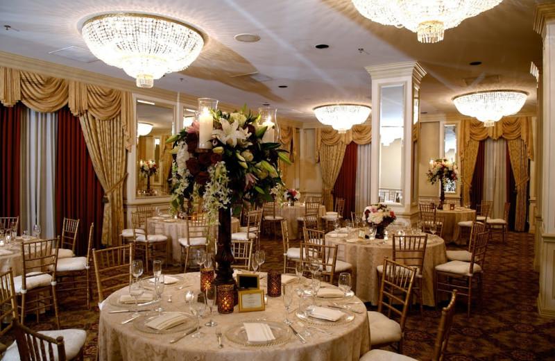 Dining at Warwick Melrose Hotel.