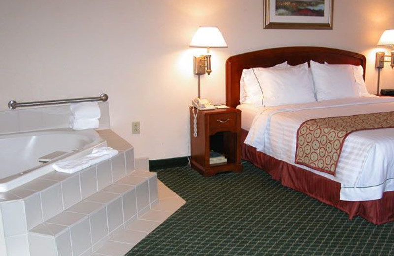 Guest room at Courtyard by Marriott Key West Waterfront.