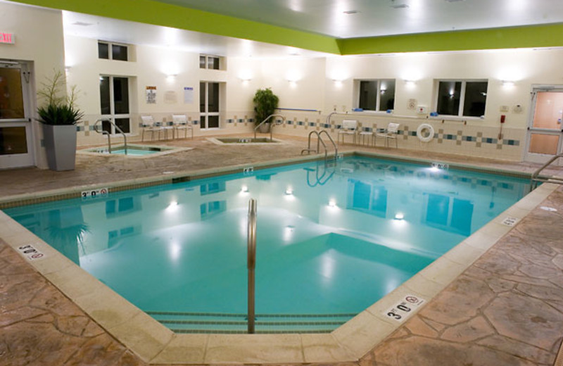 Indoor Pool at the Fairfield Inn & Suites Wilkes-Barre Scranton