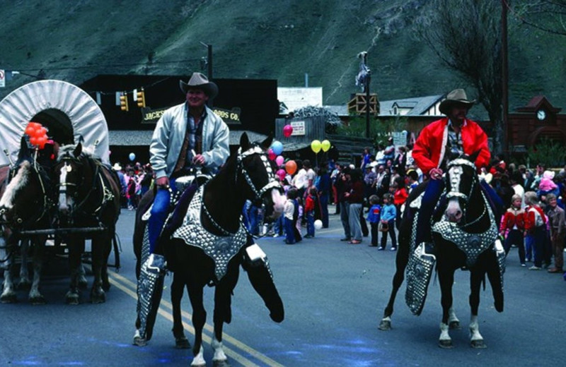 Parade at Wyoming Inn of Jackson Hole.