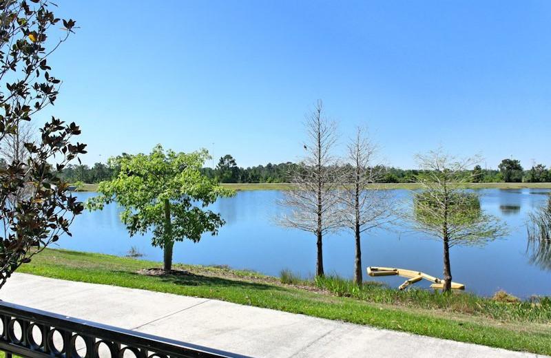 Lakeside view at Vista Cay Inn.