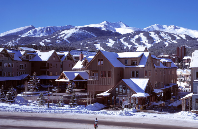 Main Street Station sits on Main Street Breckenridge and is just 150 yards to the Quicksilver Lift at the Base of Peak 9.