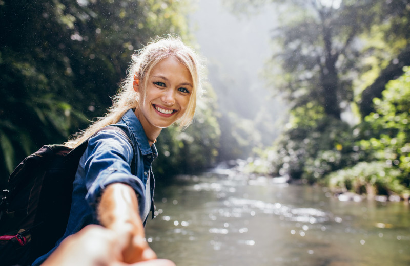 Hiking at Redwood Coast Vacation Rentals