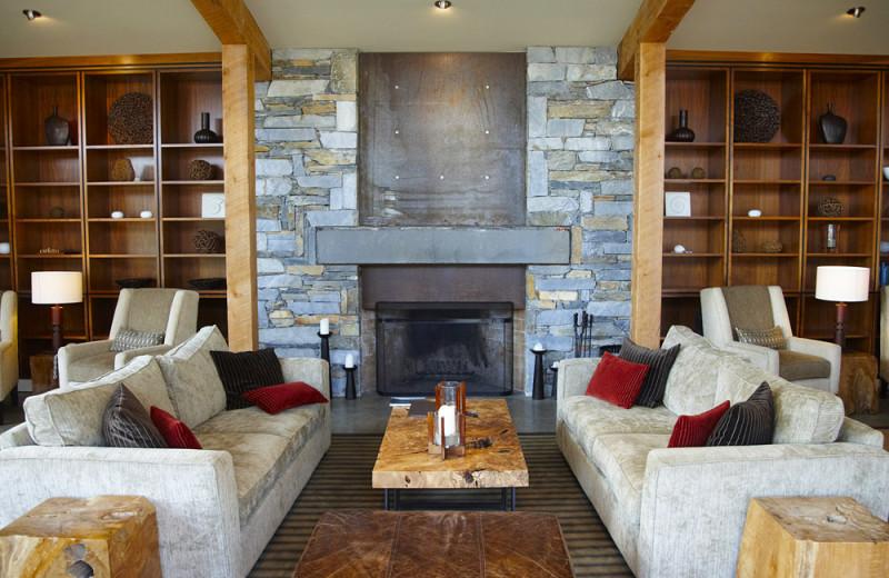 Lounge at Cox Bay Beach Resort.