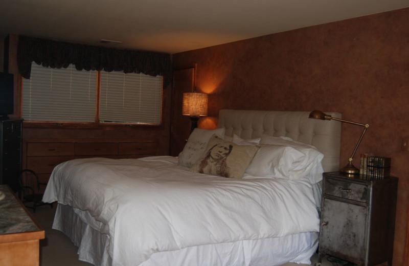 Guest bedroom at Wheeler Block Penthouse.
