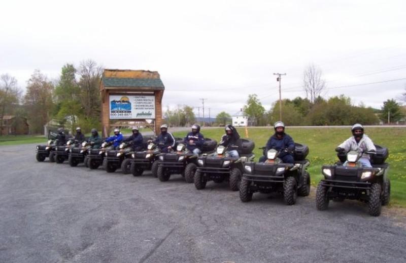 ATV's at North Country Rivers