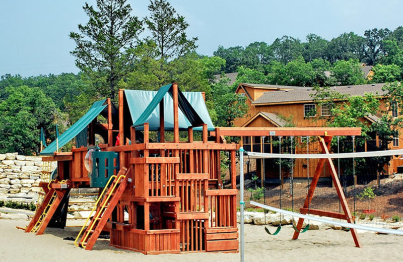 Kid's playground at Stonebridge Resort.