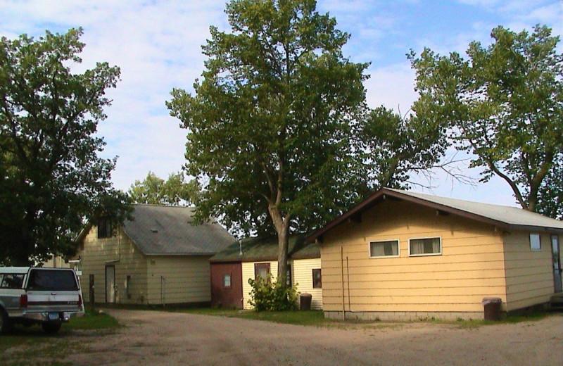 Cabins at Woodland Resort.