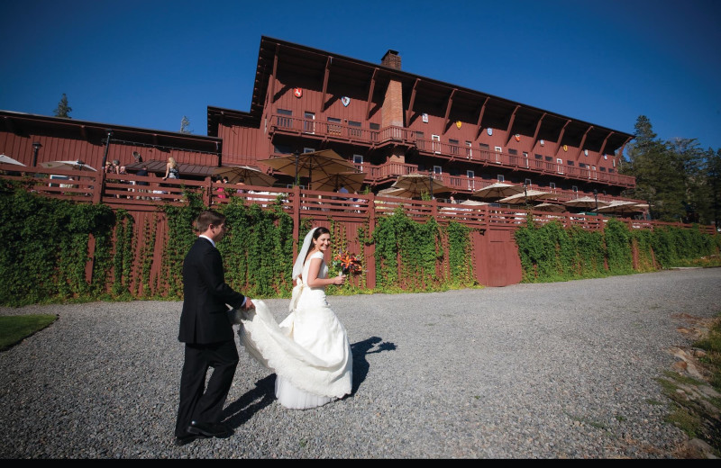 Wedding at Sugar Bowl Resort.