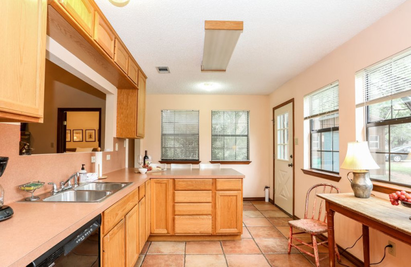 Kitchen at Farr Side Lake Vacation Home.