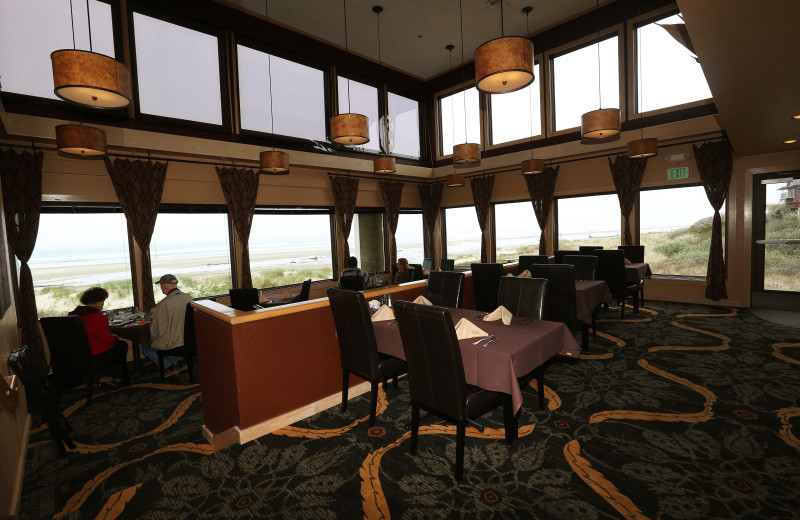 Dining room at Driftwood Shores Resort and Conference Center.