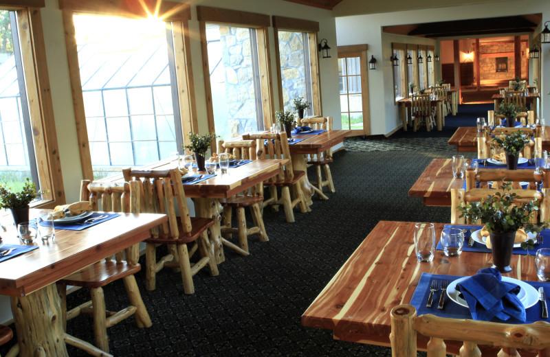 Dining at Morrell Ranch.
