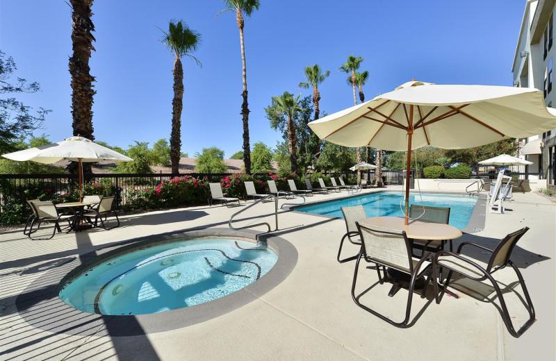 Outdoor pool at Best Western Plus Mesa.